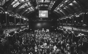 PMJ at the Old Fruitmarket in Glasgow; a beautiful venue.