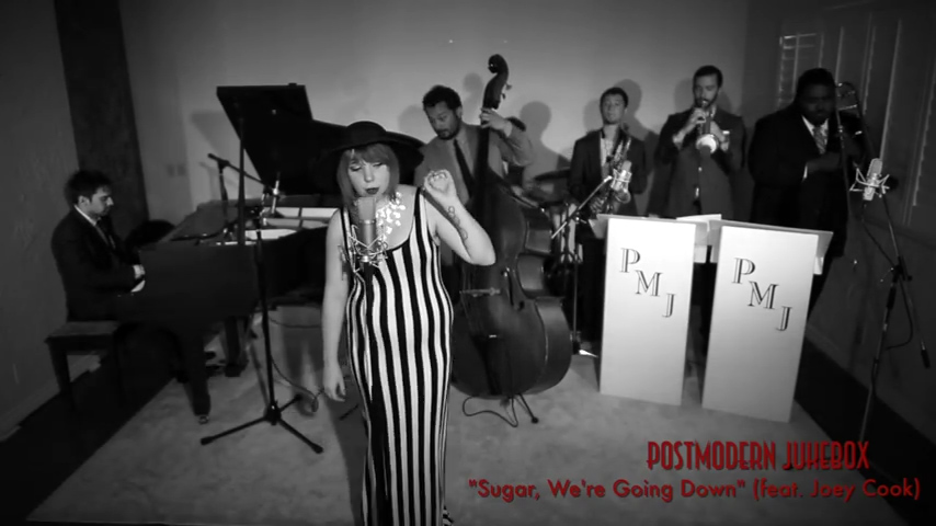 Sugar, We're Going Down – Vintage Big Band – Style Fall Out Boy Cover ft. Joey Cook