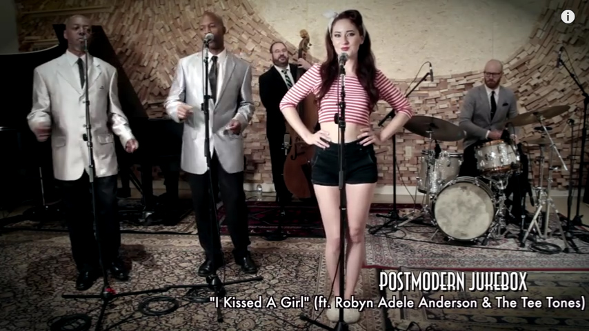 I Kissed A Girl – Vintage '50s Doo Wop Katy Perry Cover ft. Robyn Adele Anderson