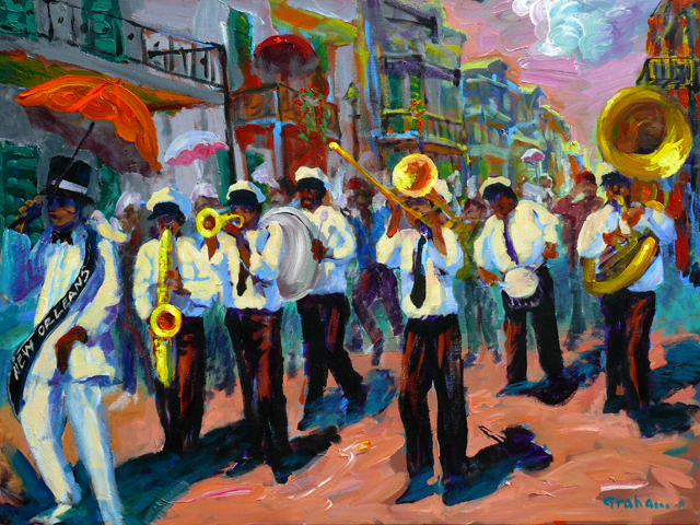 New Orleans Brass Band Cover