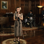 "A 1930's Jazz Remake of Radiohead's ""No Surprises,"" featuring Chloe Feoranzo"