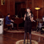 "No Doubt's ""Spiderwebs"" as 1940s Jazz, Featuring Belle Jewel"