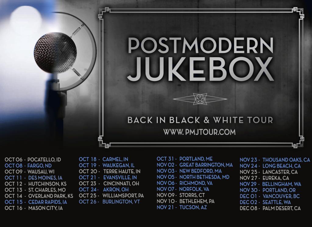 Back In Black & White Tour