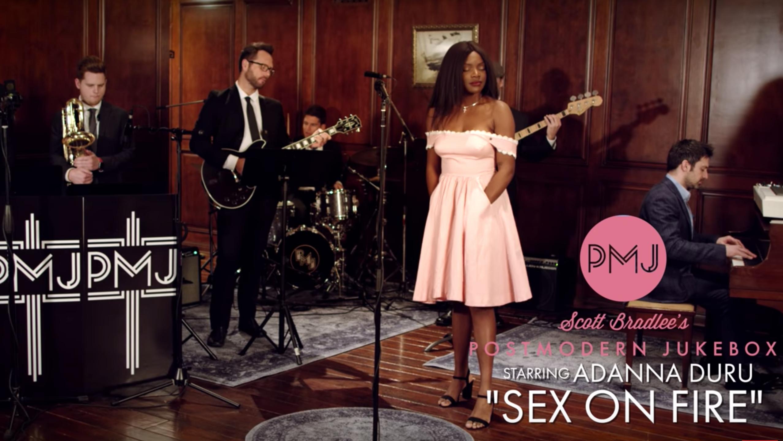 Sex On Fire – Kings Of Leon (Vintage Soul Cover) ft. Adanna Duru