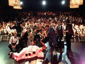 The cast at our first sold out show at NYC's Best Buy Theater