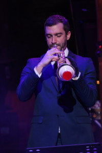 Mike Cottone on trumpet