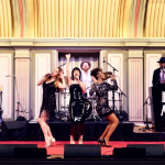 "Paula Abdul's ""Straight Up"" On Stage With Olivia Kuper Harris, Sara Niemietz and Vonzell Solomon!"