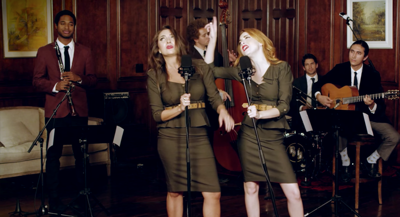 The Boy Is Mine – Brandy & Monica (Vintage '40s Cover) ft. Emily & Juliette Goglia