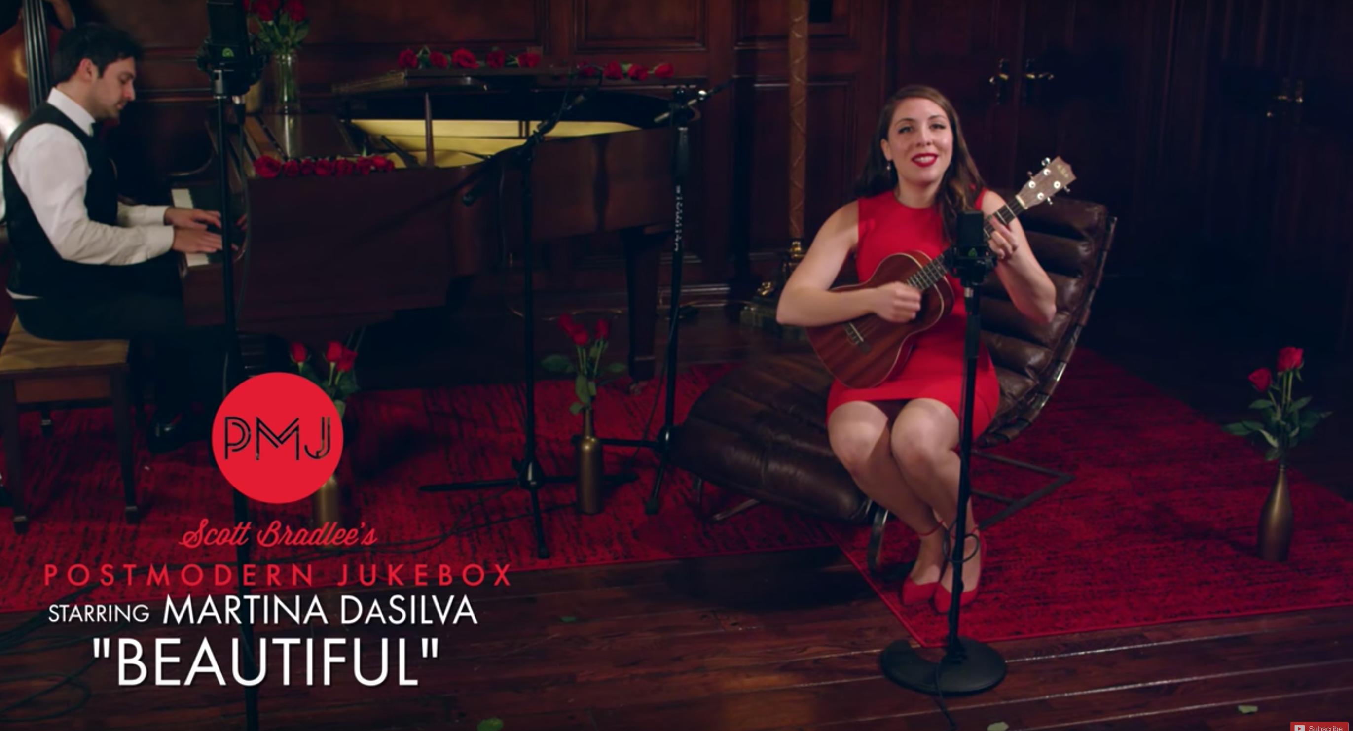 Beautiful – Christina Aguilera (Jazz Cover) ft. Martina DaSilva