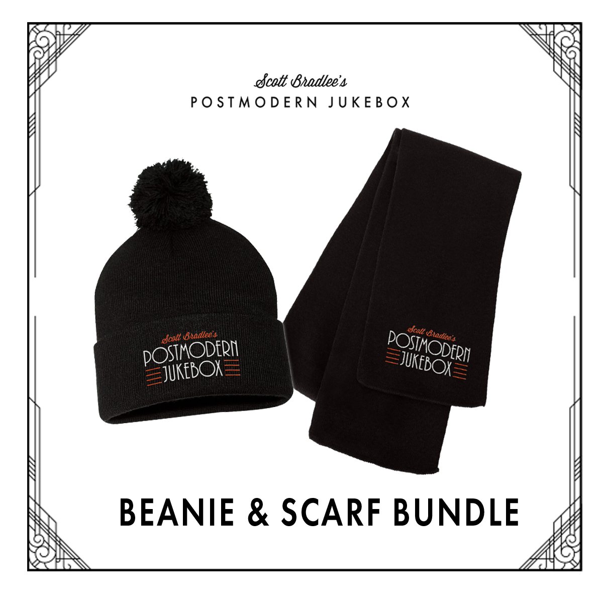 BUNDLE-BEANIE&SCARF